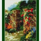 Cross-Stitch Embroidery Color Pattern with DMC codes - Tales of the Rose Garden
