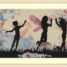 Cross-Stitch Embroidery Color Digital Pattern with DMC codes - Fairyland Kids