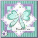 Beautiful Decor Design Collectible Kitchen Fridge Magnet - Pretty Butterfly