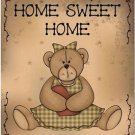 Beautiful Decor Design Collectible Kitchen Fridge Magnet - Prim Teddy Bear