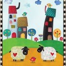 Beautiful Decor Design Collectible Kitchen Fridge Magnet - Cute Prim Village