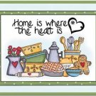 Beautiful Collectible Kitchen Fridge Refrigerator Magnet - Kitchen Design #2