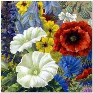 Beautiful Collectible Flower Kitchen Fridge Refrigerator Magnet - Still Life #21