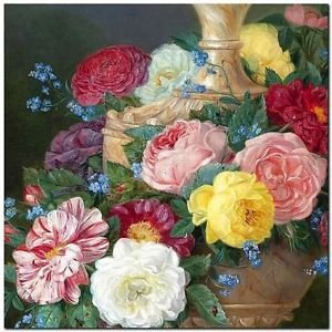 Beautiful Collectible Flower Kitchen Fridge Refrigerator Magnet - Still Life #28