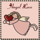 Cute Valentine's Collectible Kitchen Fridge Refrigerator Magnet - Angel Love