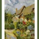 Cross-Stitch Embroidery Color Pattern with DMC codes - Little England Cottage