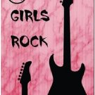 Beautiful Decor Collectible Kitchen Fridge Magnet - Girls Rock