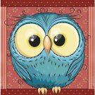 Beautiful Decor Design Collectible Kitchen Fridge Magnet - Cute Little Owl #2