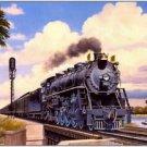 Train Locomotive Collectible Fridge Magnet - California Journey