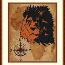 Cross-Stitch Embroidery Color Pattern with DMC thread codes - Wild Africa #2