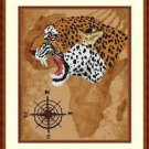 Cross-Stitch Embroidery Color Pattern with DMC thread codes - Wild Africa #3