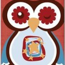 Beautiful Decor Design Collectible Kitchen Fridge Magnet - Winking Owl