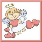 Beautiful Cute Decor Design Collectible Kitchen Fridge Magnet - Love Angel