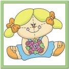 Beautiful Cute Decor Design Collectible Kitchen Fridge Magnet ~ Raggedy Ann #11