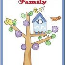 Beautiful Cute Decor Collectible Kitchen Fridge Magnet - Birdhouse & Birdies