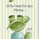 Beautiful Decor Design Collectible Kitchen Fridge Magnet - Turtle & Snail Friend