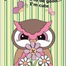 Beautiful Fun Decor Design Collectible Kitchen Fridge Magnet - Cute Funny Owl