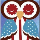 Beautiful Decor Design Collectible Kitchen Fridge Magnet - Sleeping Owl