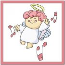 Beautiful Cute Decor Design Collectible Kitchen Fridge Magnet ~ Singing Angel