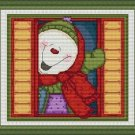 Cross-Stitch Embroidery Color Pattern DMC thread codes- Good Morning Christmas!