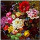 Beautiful Collectible Flower Kitchen Fridge Refrigerator Magnet - Still Life #10