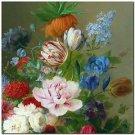 Beautiful Collectible Flower Kitchen Fridge Refrigerator Magnet - Still Life #7