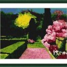 Cross-Stitch Embroidery Color Pattern with DMC thread codes - Eternal Spring