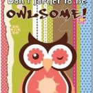 Beautiful Fun Decor Design Collectible Kitchen Fridge Magnet - To Be Owlsome