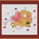 Cross-Stitch Embroidery Color Pattern DMC thread codes- Mouse Fairy #2