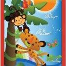 Primitive Country Folk Art Kitchen Refrigerator Magnet - Cute Zoo Animals #2