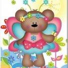 Beautiful Cute Decor Design Collectible Kitchen Fridge Magnet - Fairy Bear