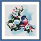 Cross-Stitch Embroidery Color Pattern with DMC codes - Song for Spring