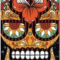 Decor Collectible Kitchen Fridge Magnet - Flower Sugar Skull #6