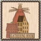 Primitive Country Folk Art Kitchen Refrigerator Magnet - Prim Home #4