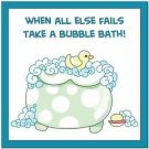 Beautiful Cute Decor Collectible Kitchen Fridge Magnet - Bubblebath Quotes #5