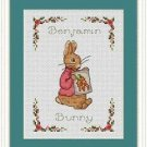 Cross-Stitch Embroidery Color Pattern with DMC codes-The Tale of Peter Rabbit #2