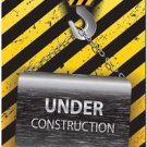 Beautiful Decor Design Collectible Kitchen Fridge Magnet - Under Construction
