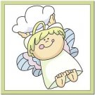 Beautiful Cute Decor Design Collectible Kitchen Fridge Magnet - Angel with Cloud