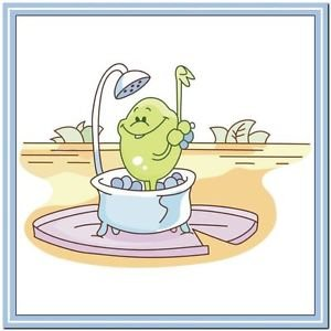Beautiful Cute Decor Collectible Kitchen Fridge Magnet - Life of Frog Family #6