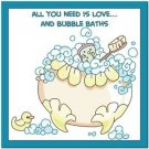 Beautiful Cute Decor Collectible Kitchen Fridge Magnet - Bubblebath Quotes #4
