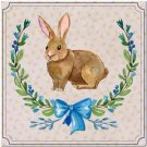 Cute Easter Collectible Kitchen Fridge Refrigerator Magnet ~ Pretty Flower Bunny