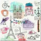 Beautiful Cute Decor Collectible Kitchen Fridge Magnet - Wonderful Paris
