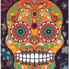 Decor Collectible Kitchen Fridge Magnet - Flower Sugar Skull #2