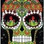 Decor Collectible Kitchen Fridge Magnet - Flower Sugar Skull #5