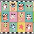 Beautiful Fun Decor Design Collectible Kitchen Fridge Magnet - Summer Owls #2