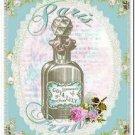 Primitive Country Folk Art Kitchen Refrigerator Magnet - Vintage Shabby Chic #5