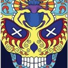 Decor Collectible Kitchen Fridge Magnet - Flower Sugar Skull #12