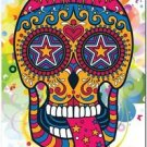 Decor Collectible Kitchen Fridge Magnet - Flower Sugar Skull #4