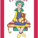 Beautiful Cute Decor Collectible Kitchen Fridge Magnet - Pretty Raggedy Ann #4