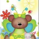 Beautiful Cute Decor Design Collectible Kitchen Fridge Magnet - Fairy Bear #2